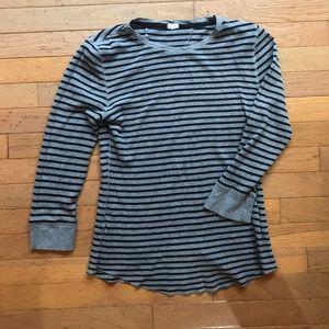 J. Crew 3/4 length shirt